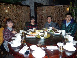 6組との食事会